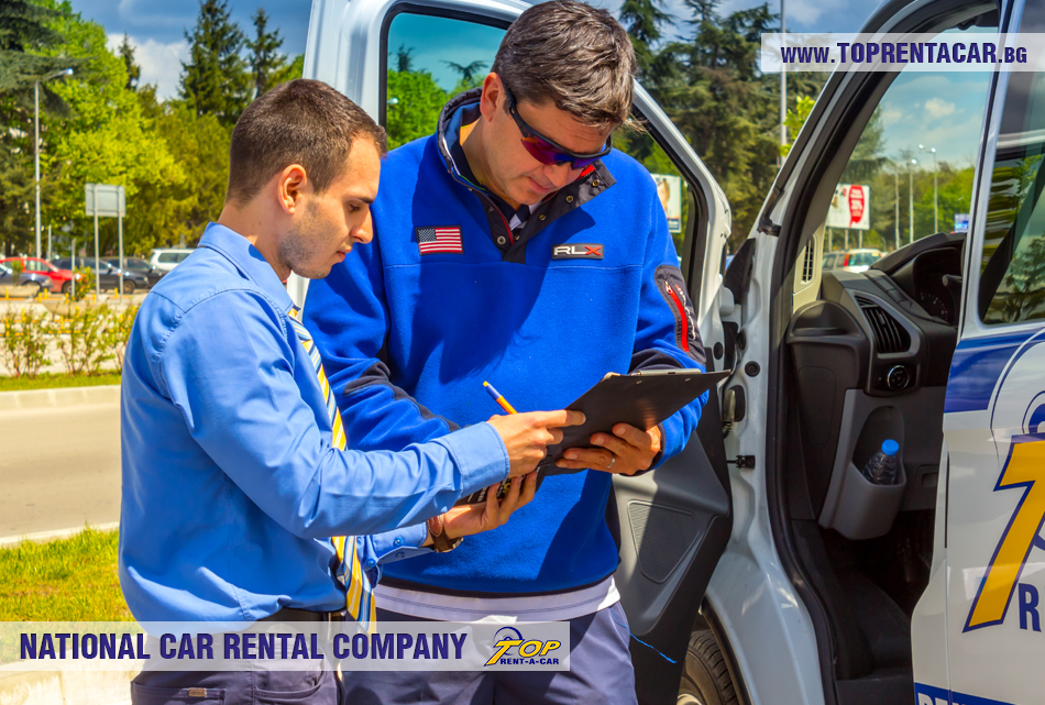 El equipo de Top Rent A Car