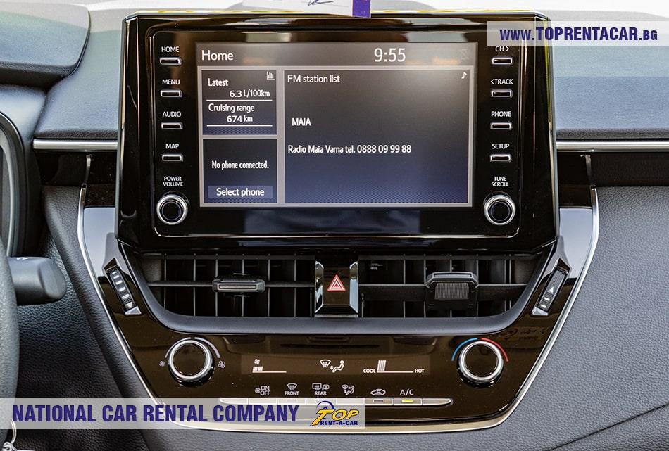 Toyota Corolla multimedia