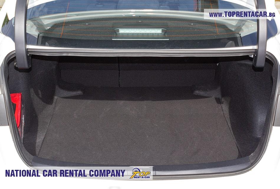 Toyota Corolla trunk