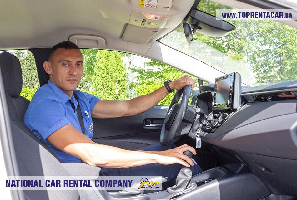 Toyota Corolla sedan rental from Top Rent A Car