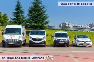 cargo vans for rent in Varna
