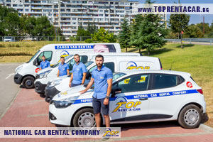 Hiring a cargo van in Burgas from Top Rent A Car