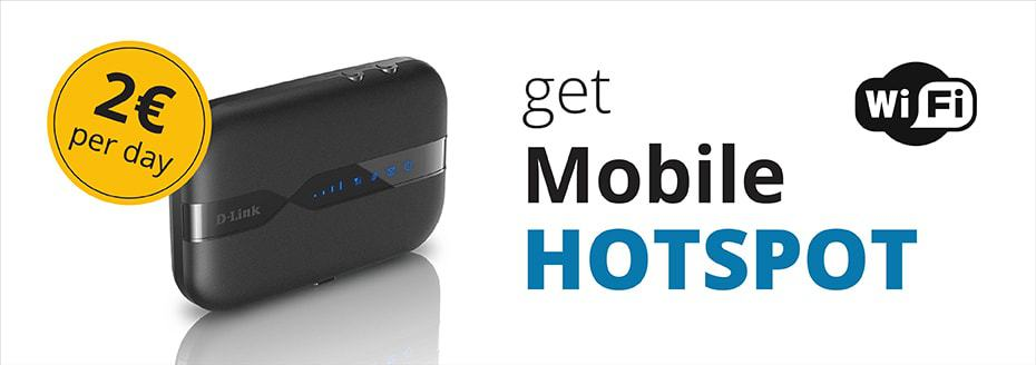 Mobile hotspot from Top Rent A Car