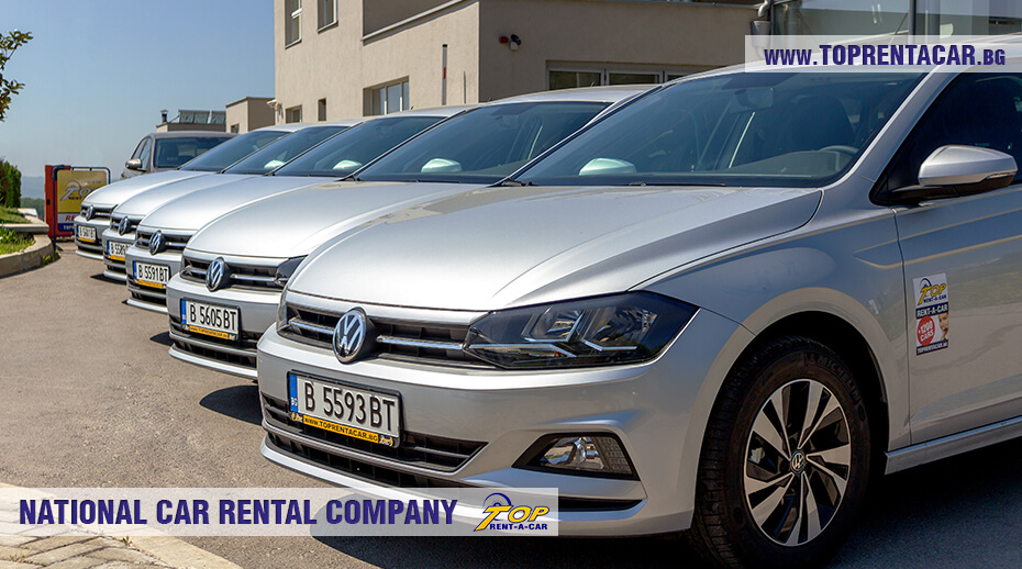 VW Polo in the car fleet of Top Rent A Car