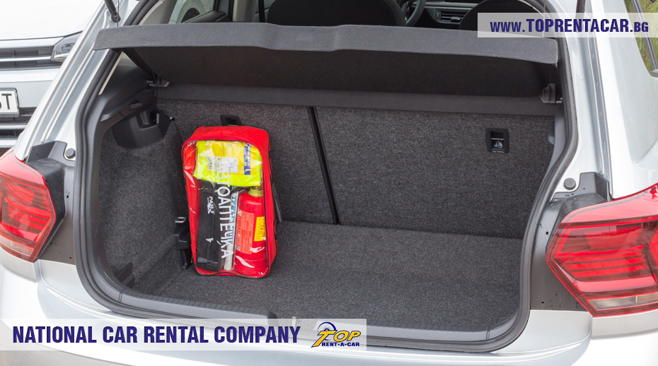 VW Polo - trunk view