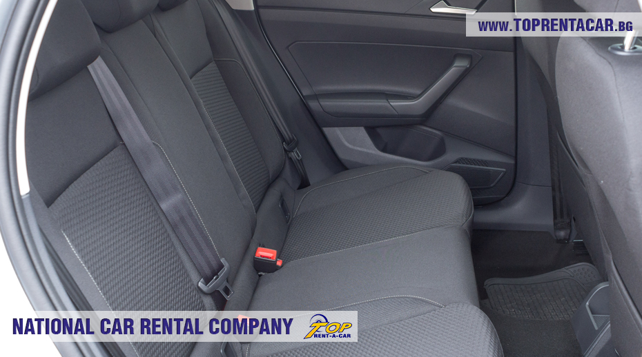 VW Polo - back seat