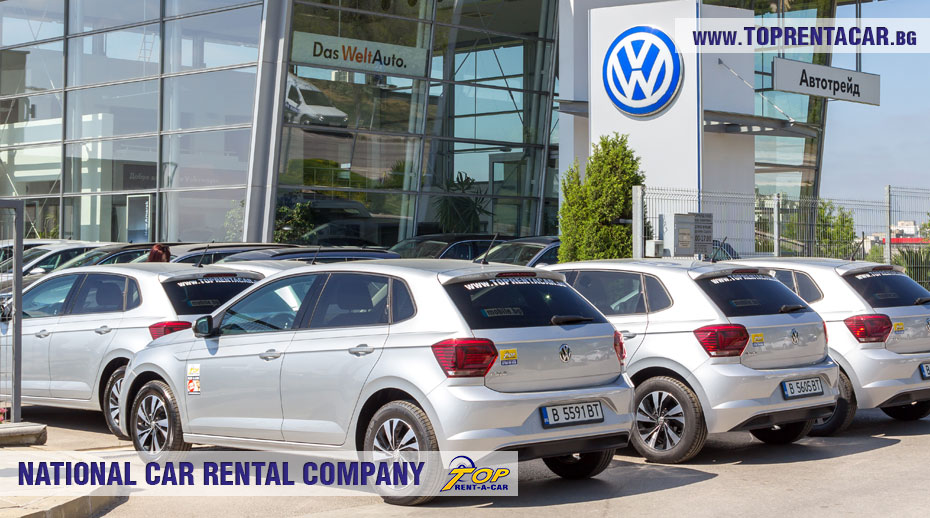 VW Polo from Top Rent A Car