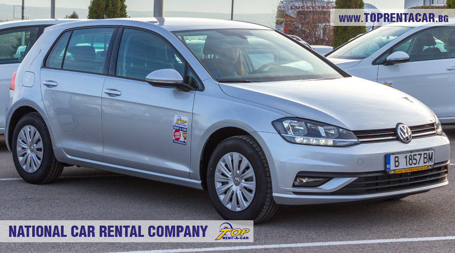 VW Golf - front