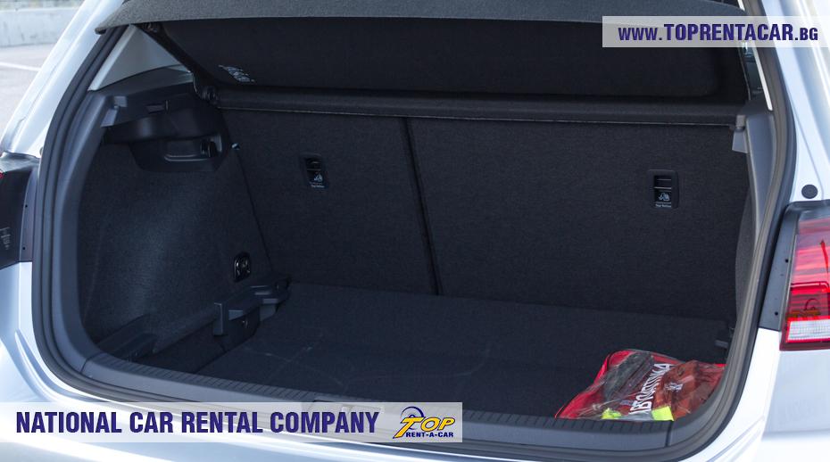 VW Golf - trunk