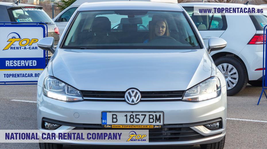 VW Golf - изглед отвътре