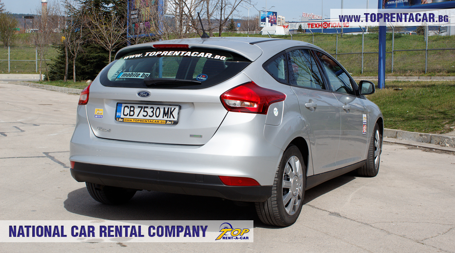 Ford Focus EcoBoost 2018 - back view