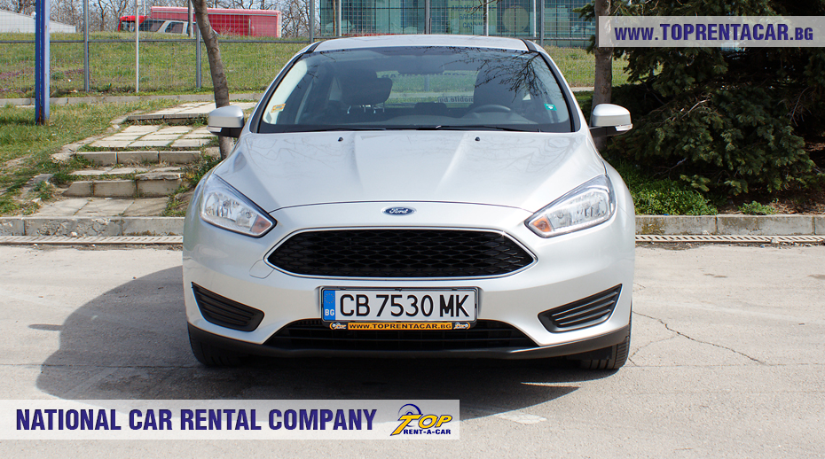 Ford Focus EcoBoost 2018 - front view