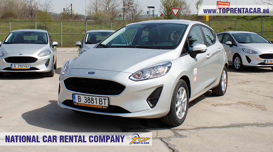 Ford Fiesta  EcoBoost 2018 -  front