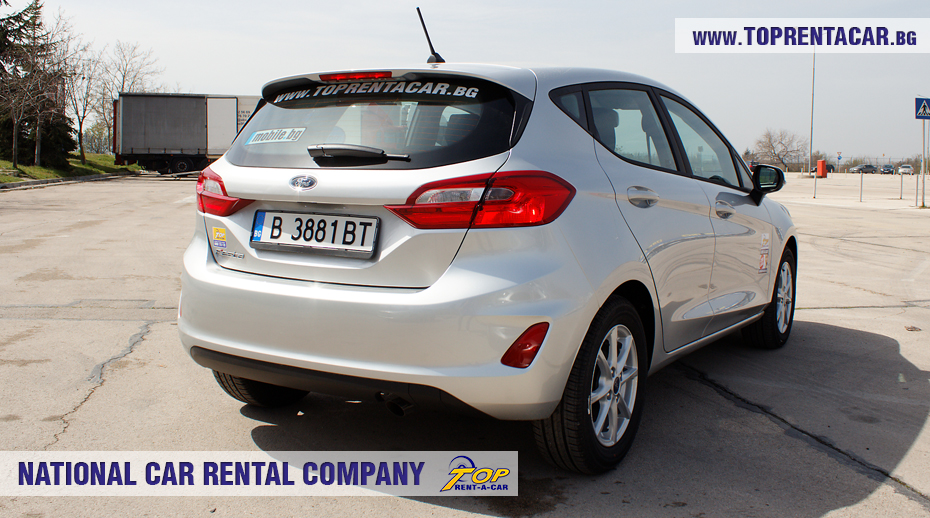 Ford Fiesta  EcoBoost 2018 -  back