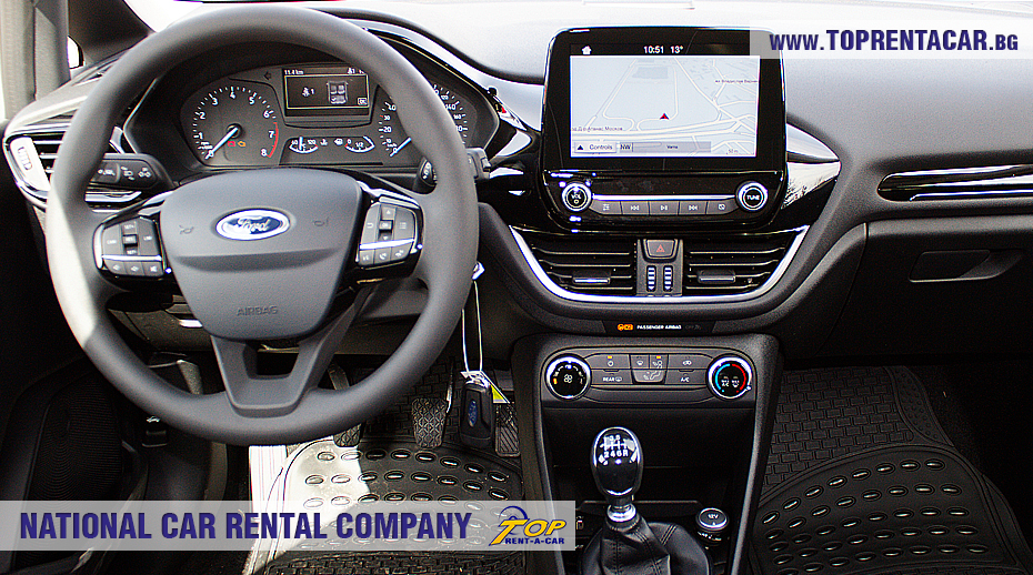 Ford Fiesta  EcoBoost 2018 -  GPS