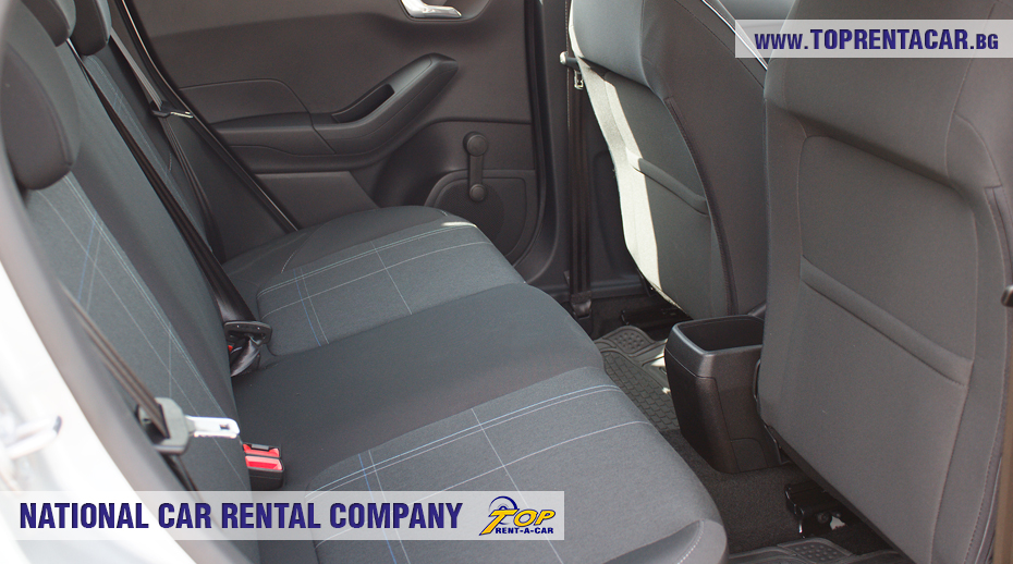 Ford Fiesta - EcoBoost задна седалка