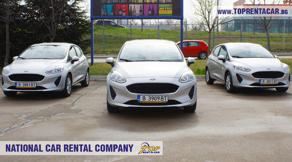 Ford Fiesta  EcoBoost 2018 от Top Rent A Car