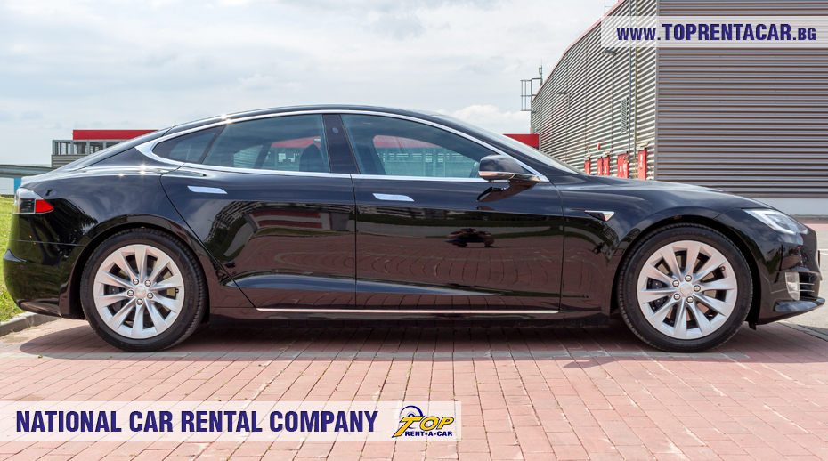 Tesla Model S 75D for rent from Top Rent A Car