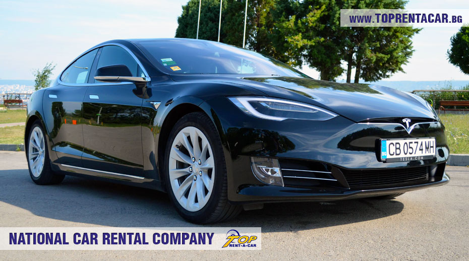 Tesla Model S 75D rental from Top Rent A Car