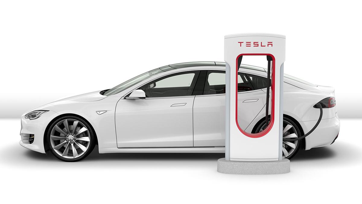 Tesla Model S 75D от Top Rent A Car
