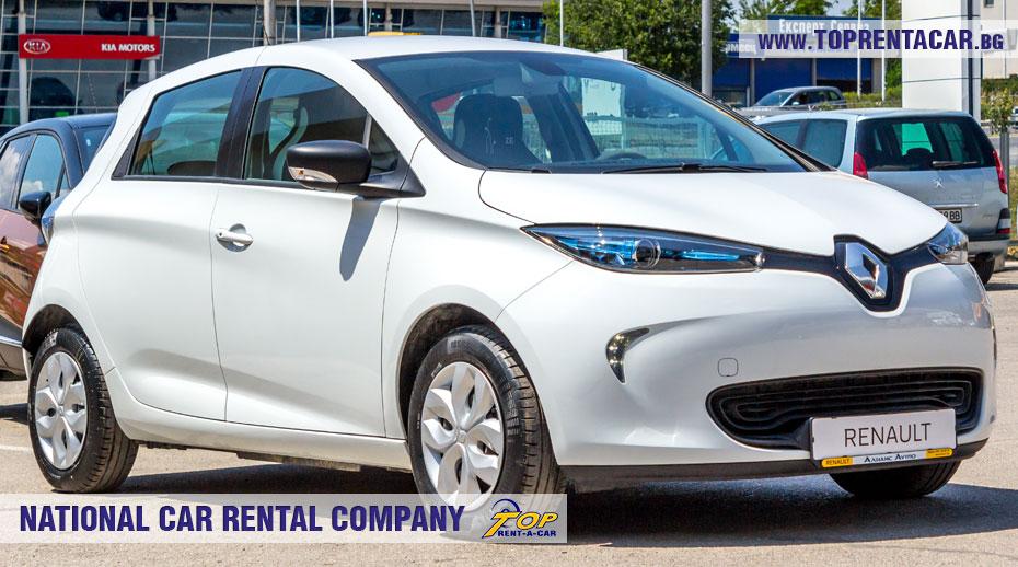Renault Zoe - отпред