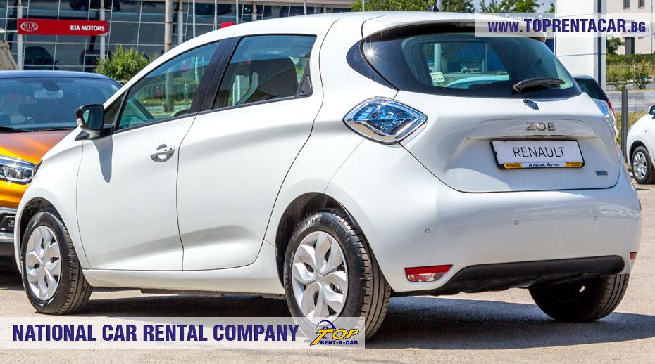 Renault Zoe - отзад