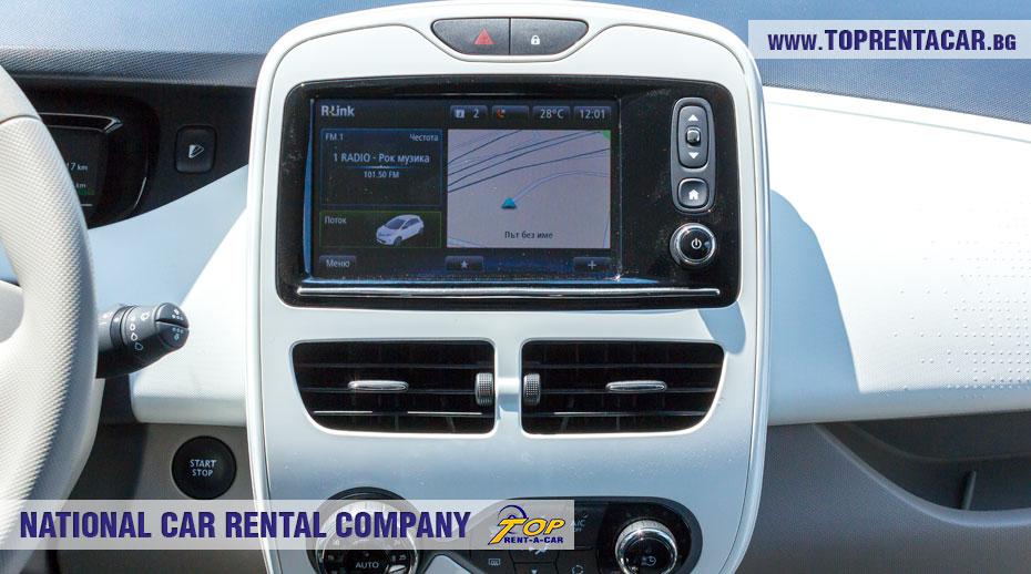 Renault Zoe - интериор