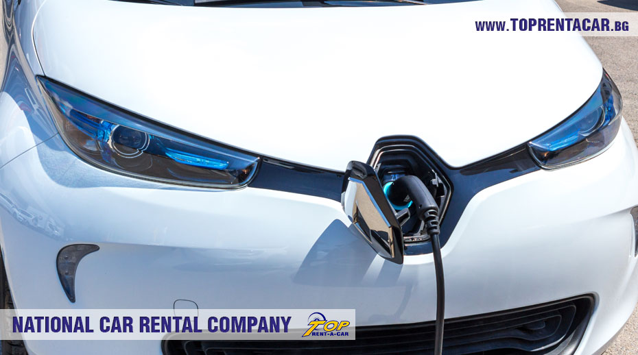 Charging of Renault Zoe from Top Rent A Car