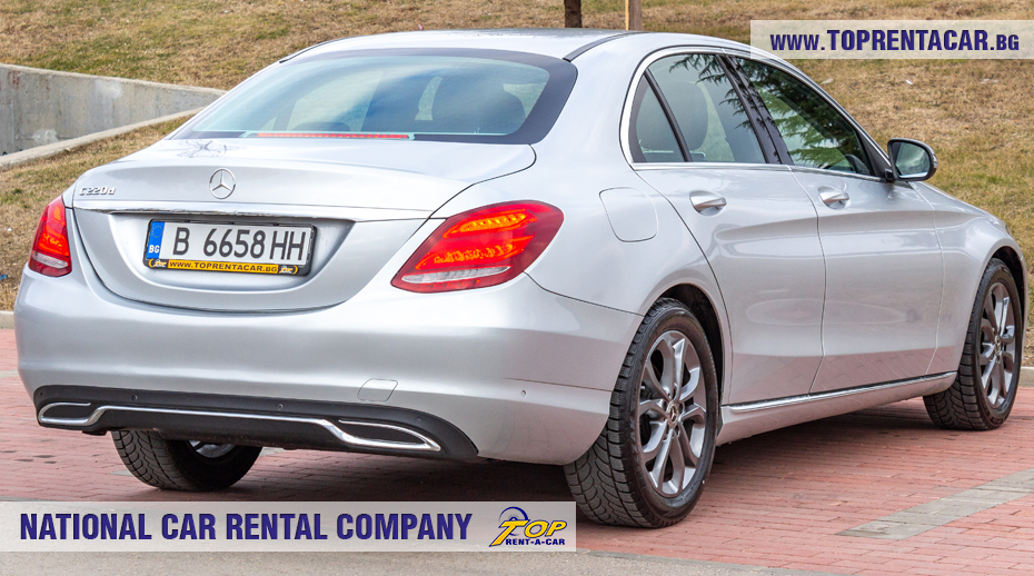 Mercedes-Benz C220 - back view