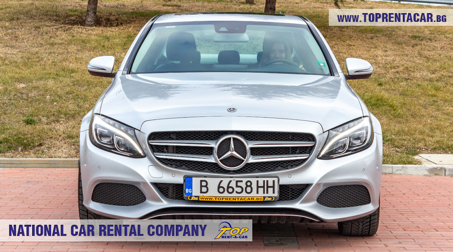 Mercedes-Benz C220 - front view