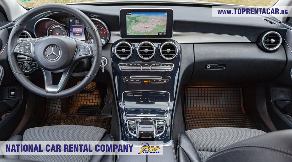 Mercedes-Benz C220 - inside