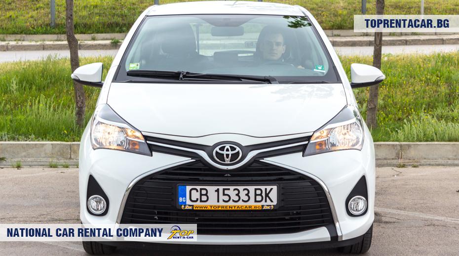 Toyota Yaris - изглед отпред