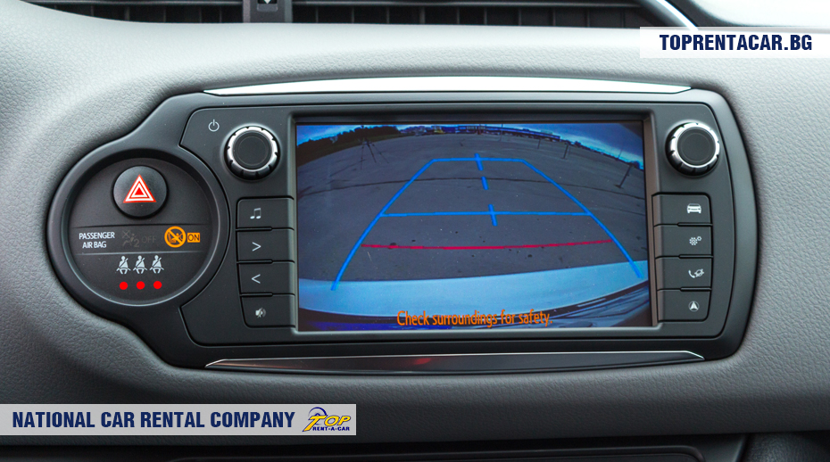 Toyota Yaris - rear view camera