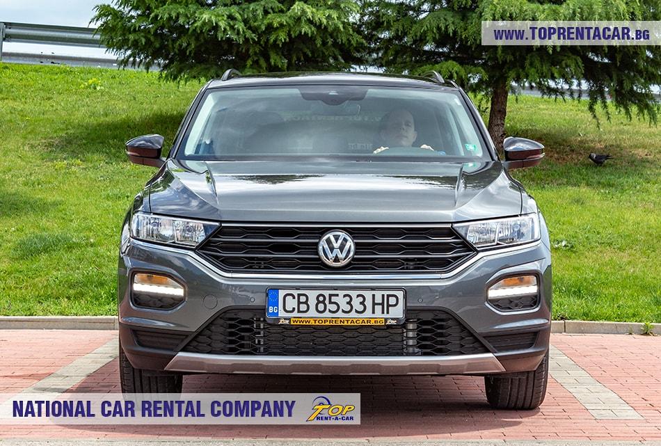 VW T-Roc 2019 изглед отпред