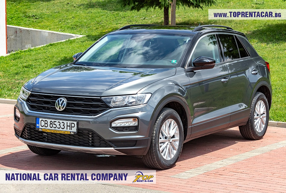 VW T-Roc 2019 front side view