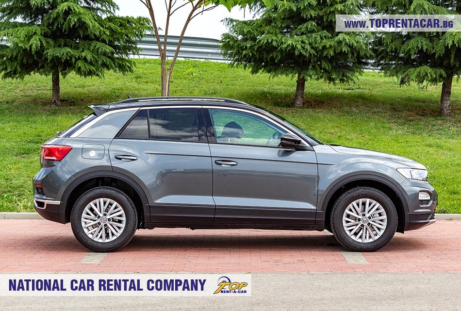 VW T-Roc 2019 страничен изглед