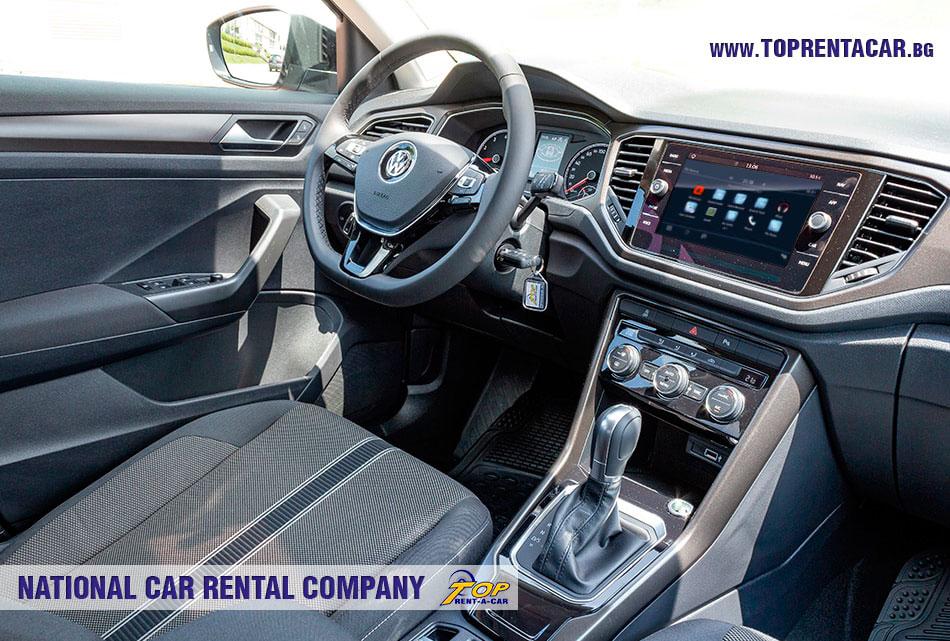 VW T-Roc 2019 интериор