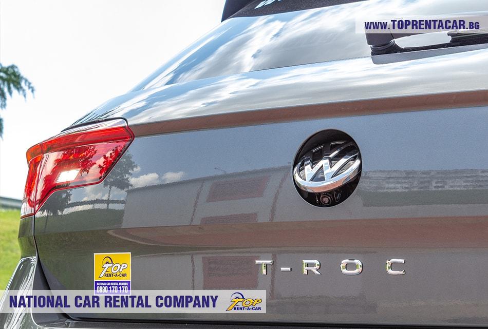 VW T-Roc 2019 задна камера