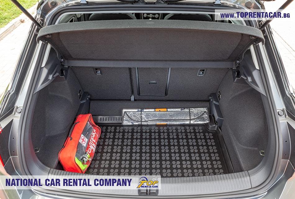 VW T-Roc 2019 изглед багажник