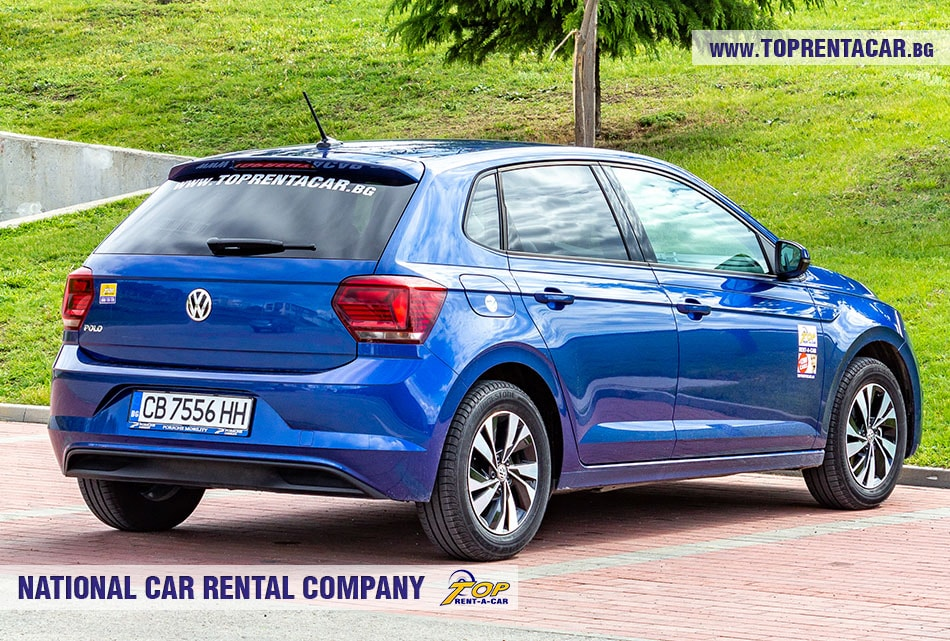 VW Polo aut 2019 - rear view