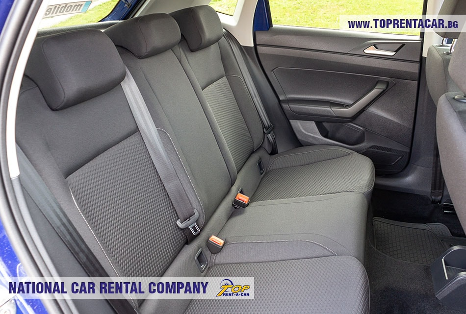 VW Polo aut 2019 - back seats