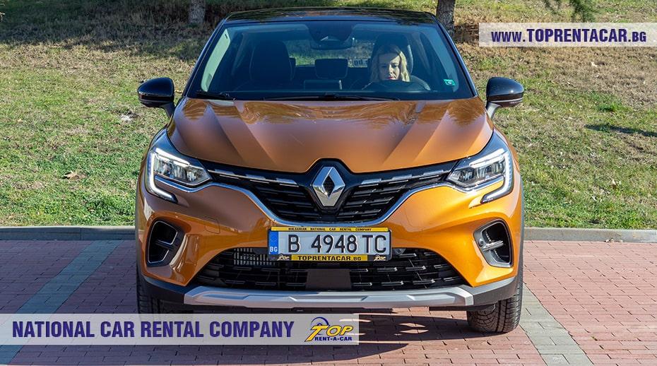 Renault Captur Tce aut 2021 изглед отпред