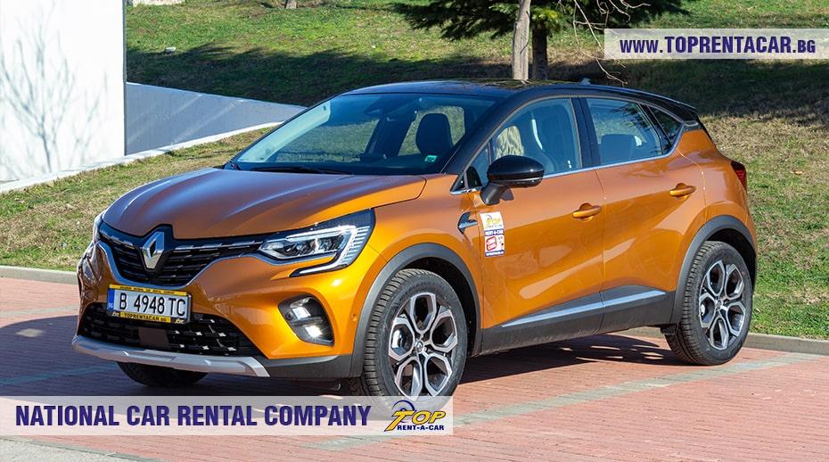 Renault Captur Tce aut 2021 под наем