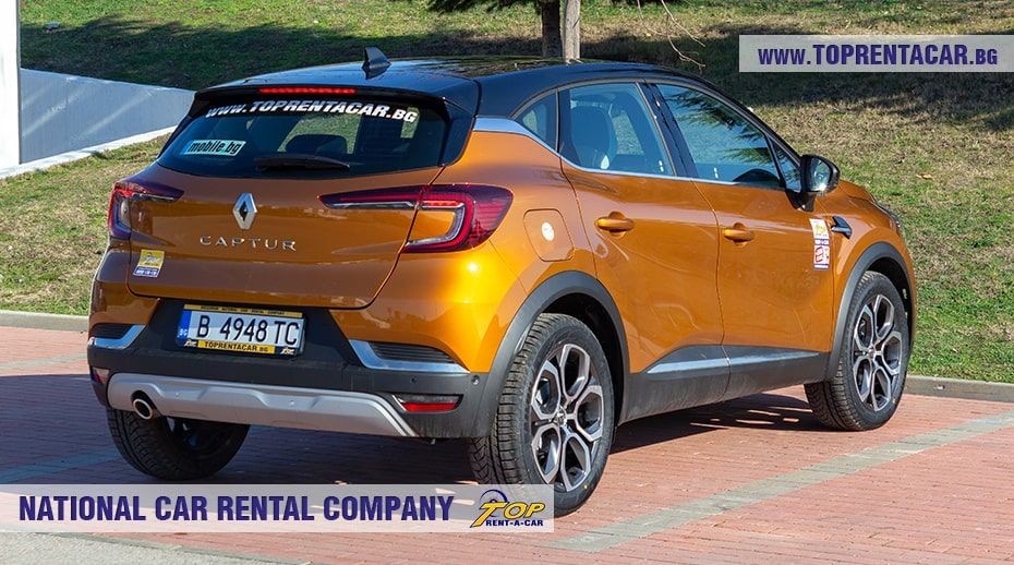 Renault Captur aut 2021 под наем