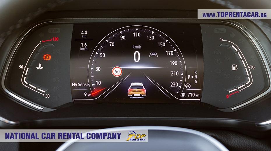 Renault Captur 2021 автоматик дигитално табло