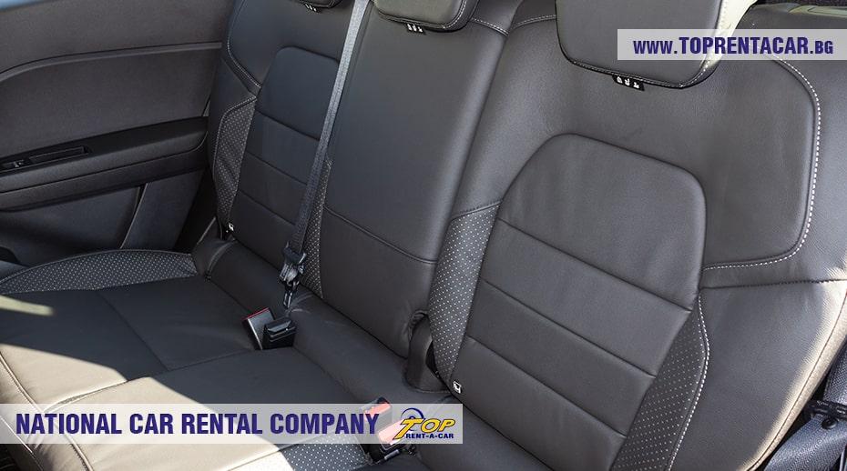 Renault Captur задни седалки