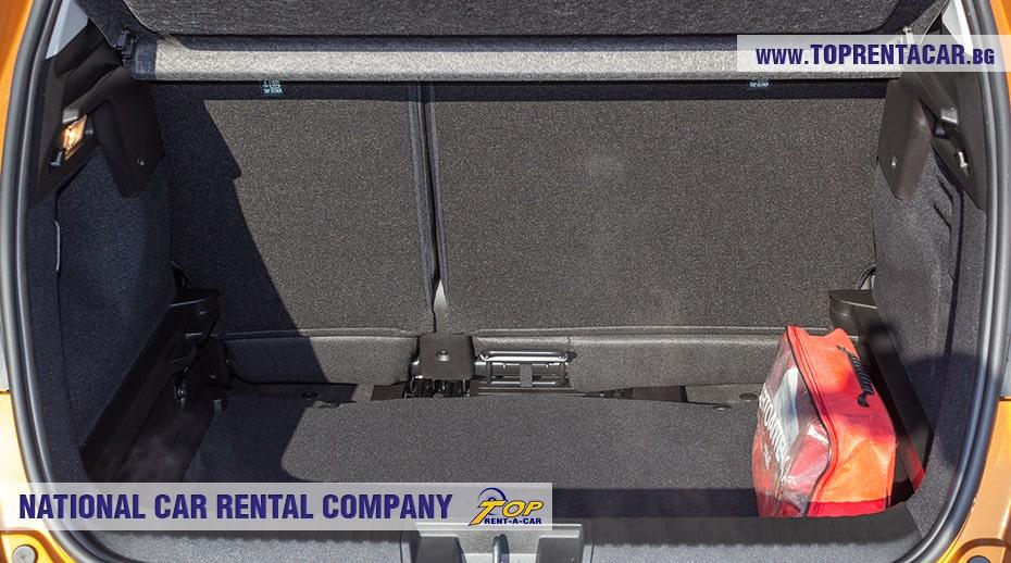 Renault Captur automat - trunk