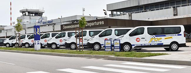 8-местни бусове за трансфер на пътници от Top Transfers