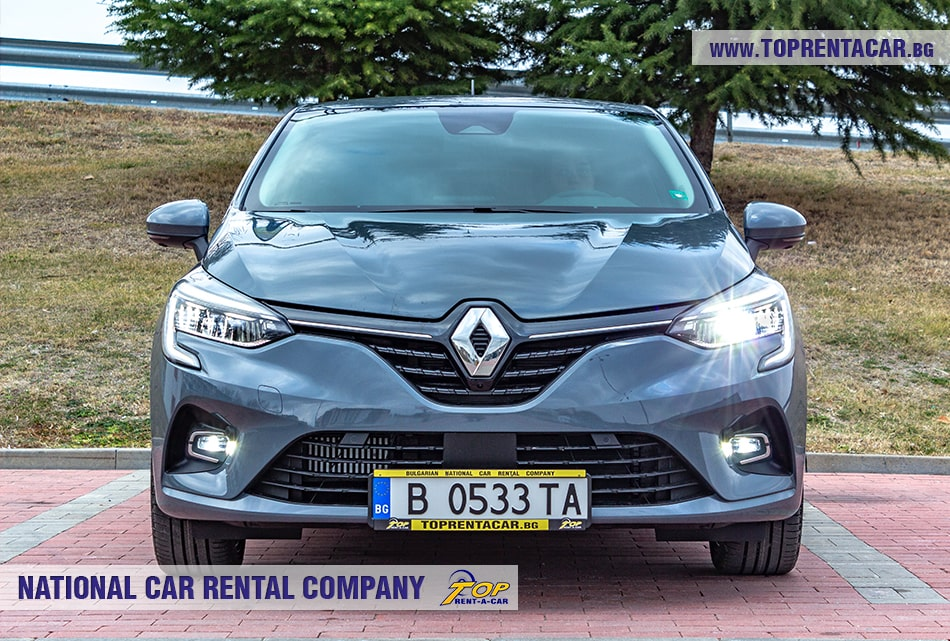 Renault Clio V 2020 + NAVI front view