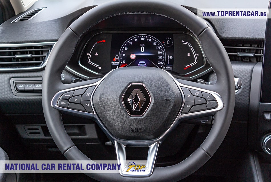 Renault Clio V 2020 - steering wheel